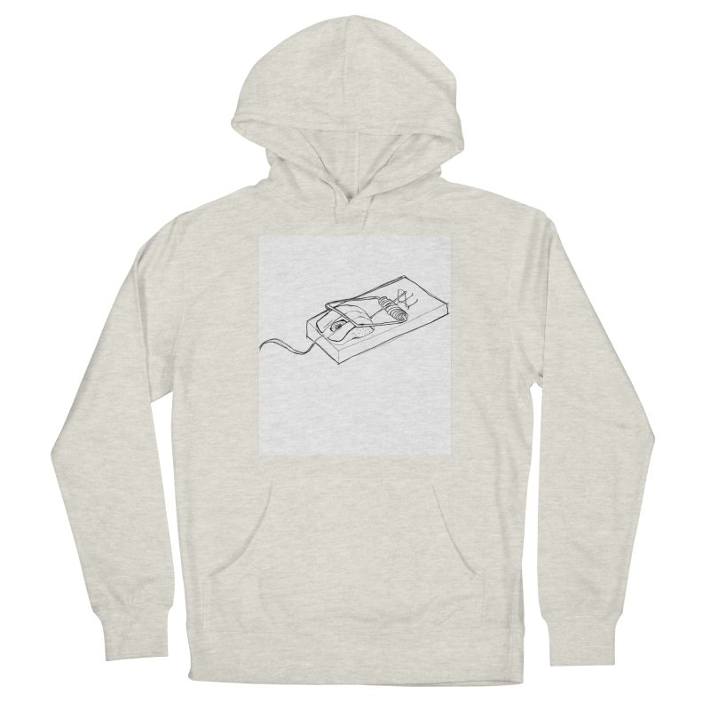 Mouse Men's French Terry Pullover Hoody by peregraphs's Artist Shop