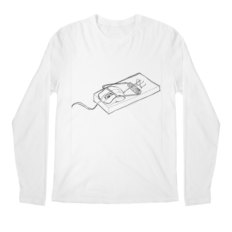 Mouse Men's Longsleeve T-Shirt by peregraphs's Artist Shop