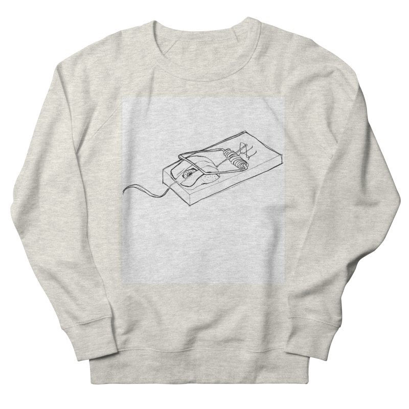 Mouse Men's French Terry Sweatshirt by peregraphs's Artist Shop