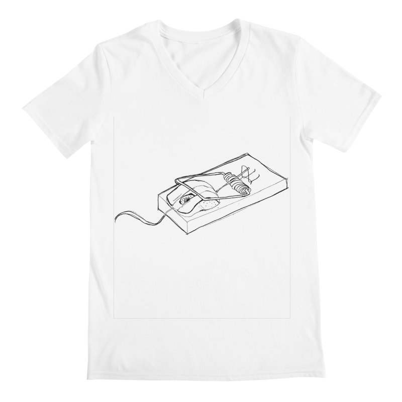 Mouse Men's V-Neck by peregraphs's Artist Shop