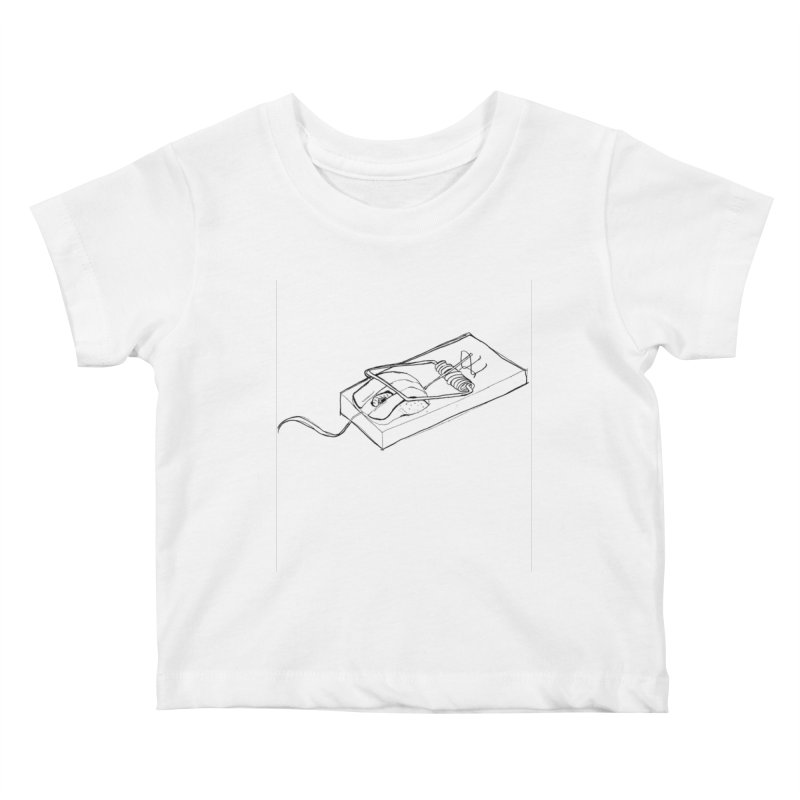 Mouse Kids Baby T-Shirt by peregraphs's Artist Shop