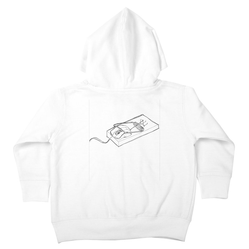 Mouse Kids Toddler Zip-Up Hoody by peregraphs's Artist Shop