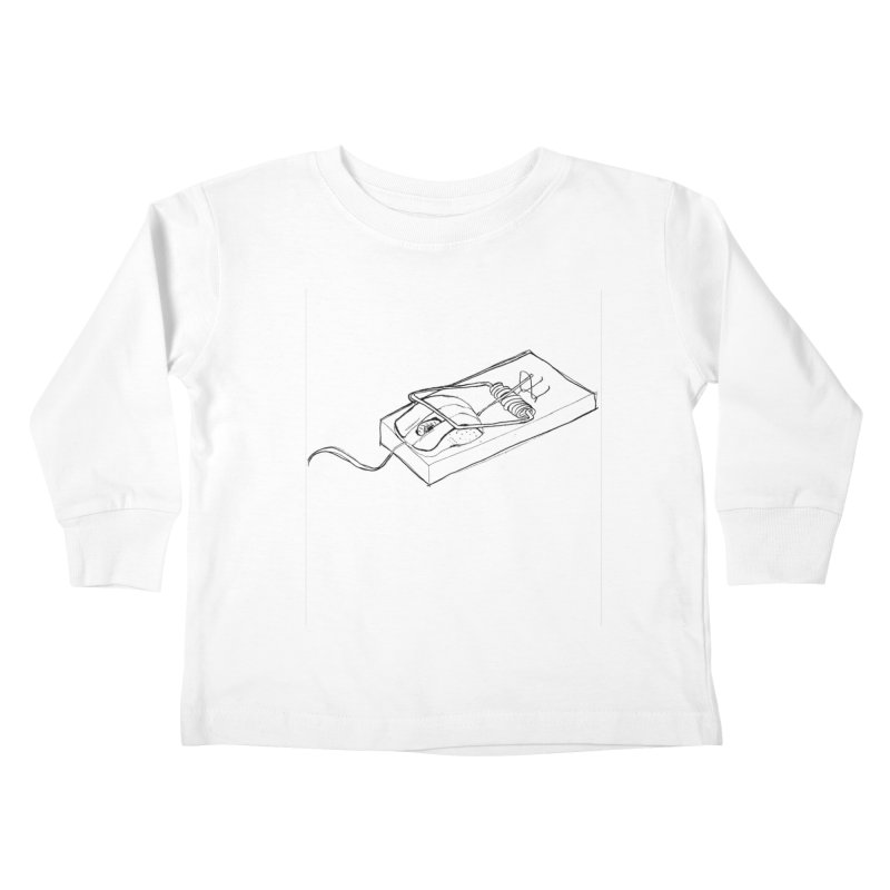 Mouse Kids Toddler Longsleeve T-Shirt by peregraphs's Artist Shop