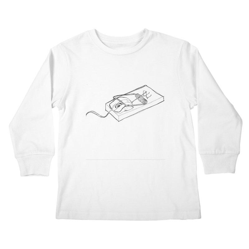 Mouse Kids Longsleeve T-Shirt by peregraphs's Artist Shop