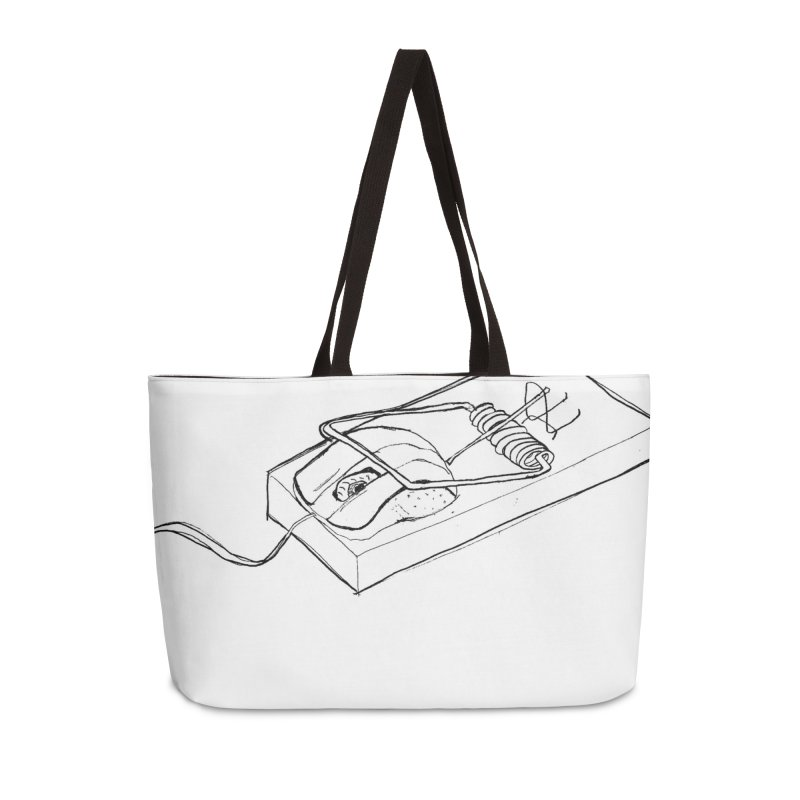 Mouse Accessories Weekender Bag Bag by peregraphs's Artist Shop