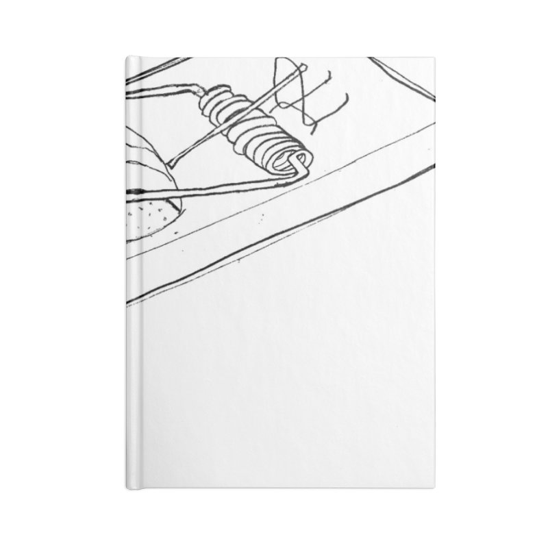 Mouse Accessories Lined Journal Notebook by peregraphs's Artist Shop