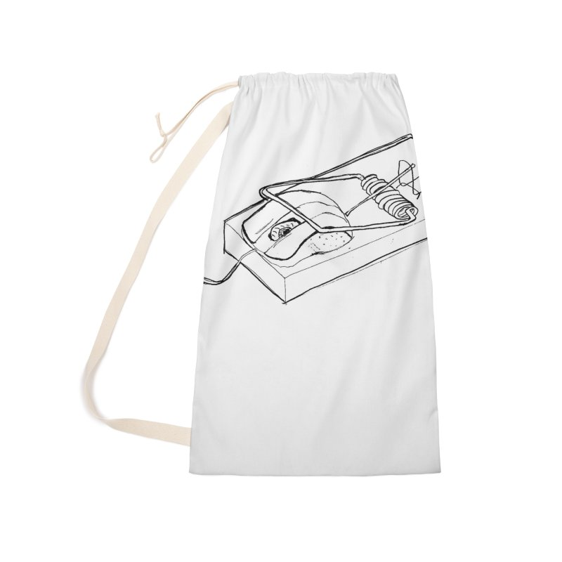 Mouse Accessories Laundry Bag Bag by peregraphs's Artist Shop