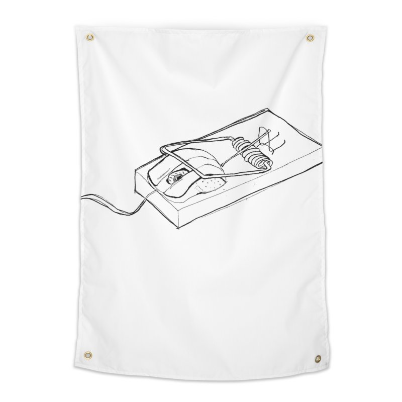Mouse Home Tapestry by peregraphs's Artist Shop