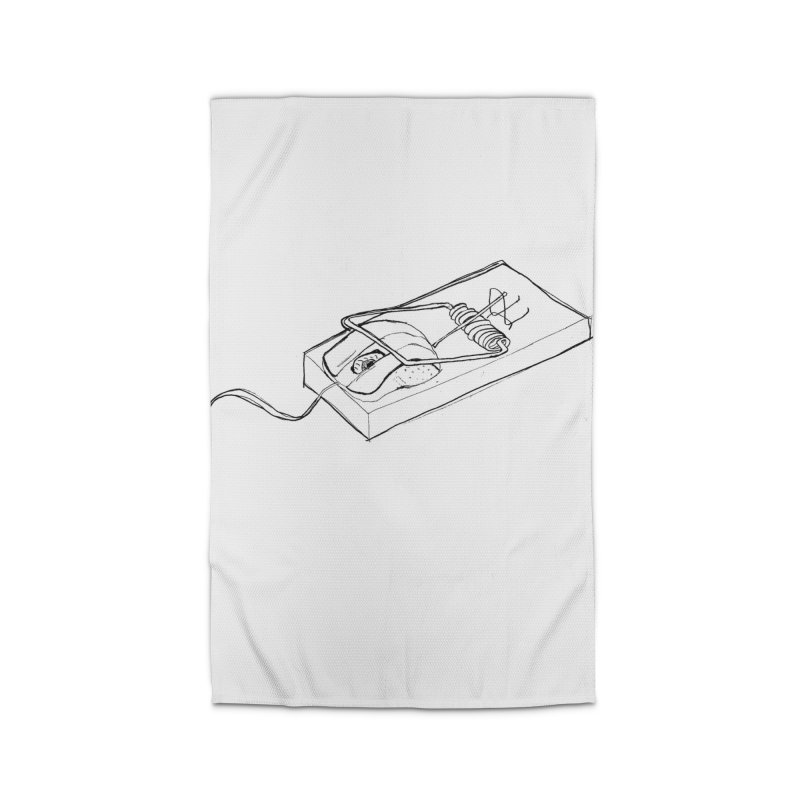 Mouse Home Rug by peregraphs's Artist Shop