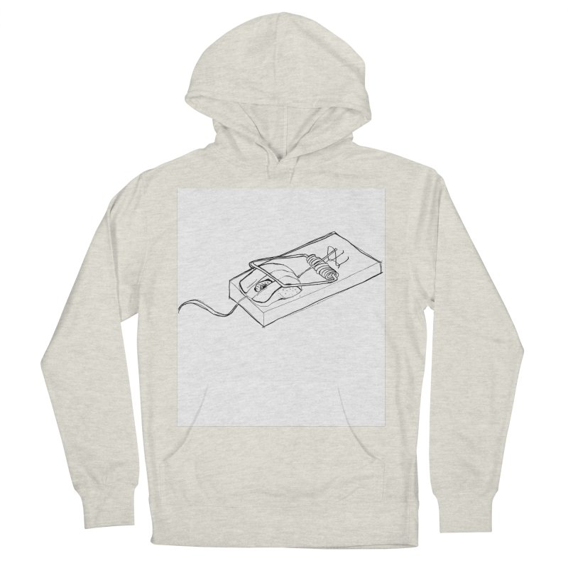 Mouse Men's Pullover Hoody by peregraphs's Artist Shop