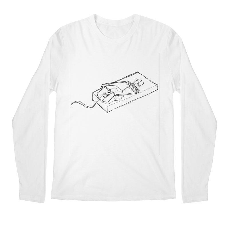 Mouse Men's Longsleeve T-Shirt by peregraphs's Artist Shop