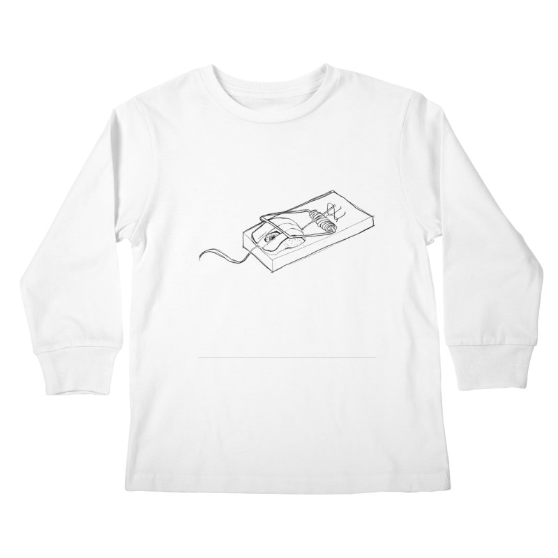 Mouse Kids Longsleeve T-Shirt by peregraphs's Artist Shop