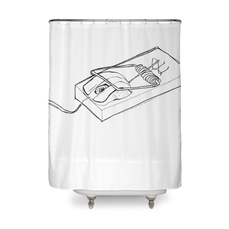 Mouse Home Shower Curtain by peregraphs's Artist Shop
