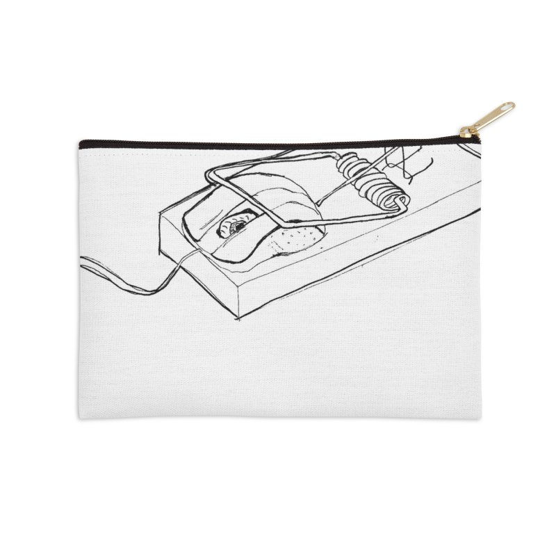 Mouse Accessories Zip Pouch by peregraphs's Artist Shop