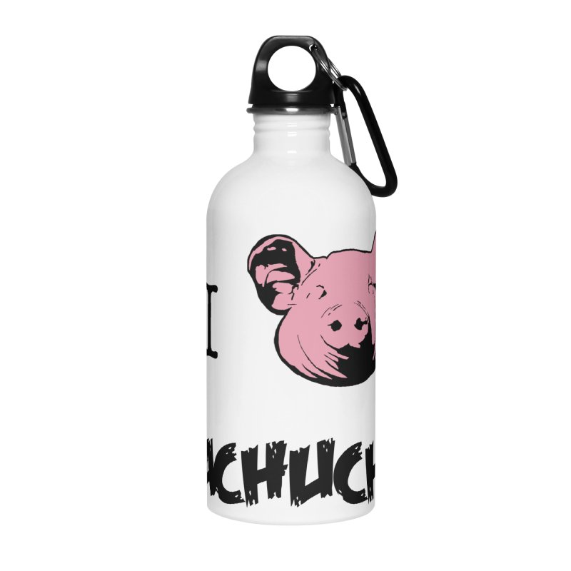 I love cachucha Accessories Water Bottle by peregraphs's Artist Shop
