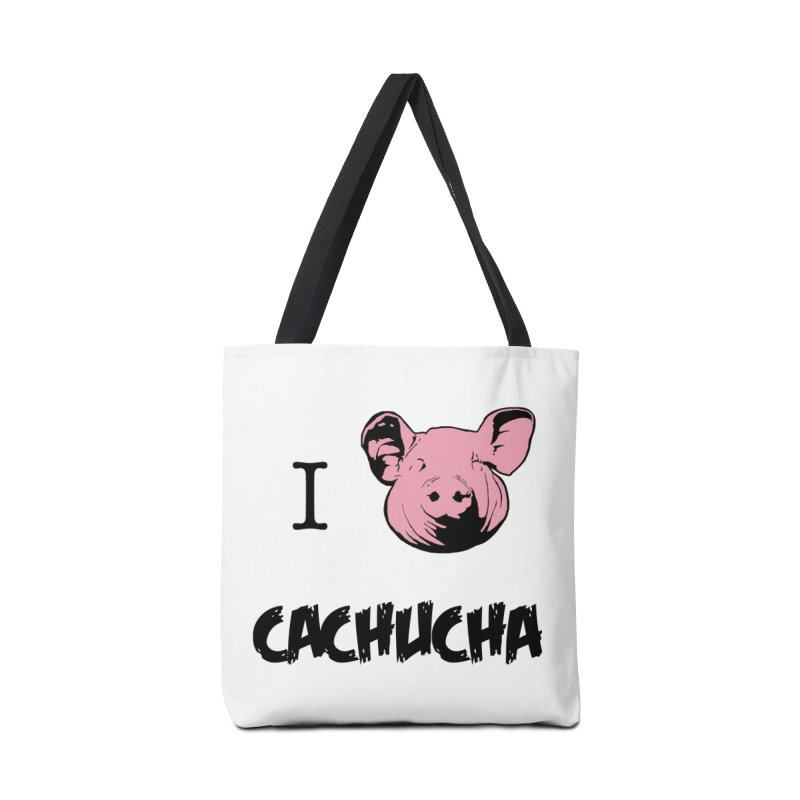I love cachucha Accessories Bag by peregraphs's Artist Shop