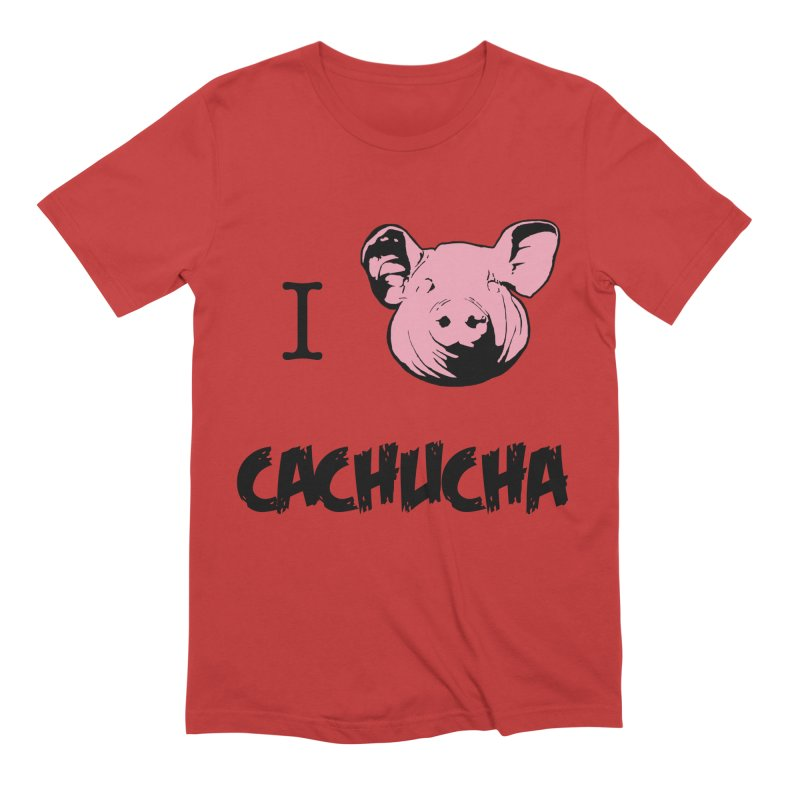 I love cachucha Men's Extra Soft T-Shirt by peregraphs's Artist Shop