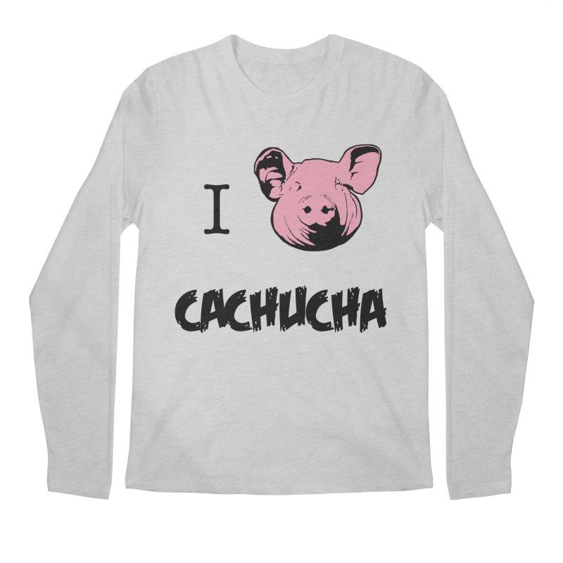 I love cachucha Men's Regular Longsleeve T-Shirt by peregraphs's Artist Shop