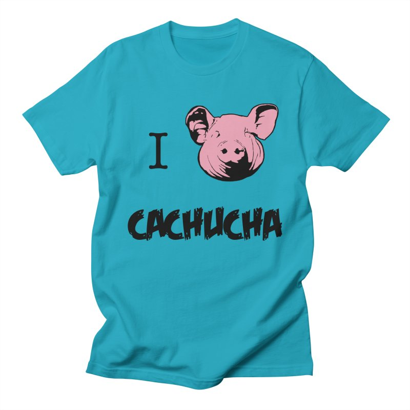 I love cachucha Men's Regular T-Shirt by peregraphs's Artist Shop
