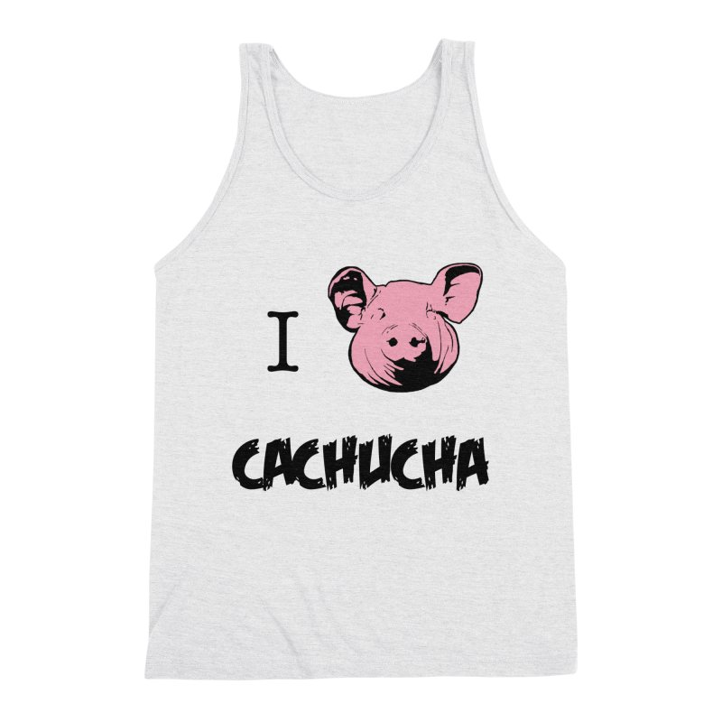 I love cachucha Men's Tank by peregraphs's Artist Shop