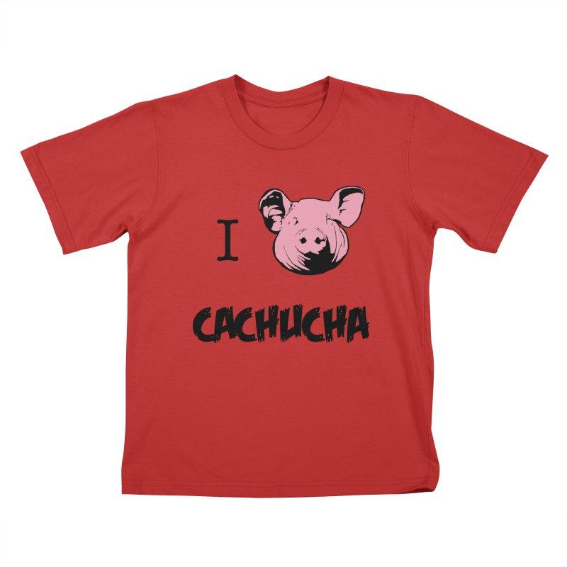 I love cachucha Kids T-Shirt by peregraphs's Artist Shop