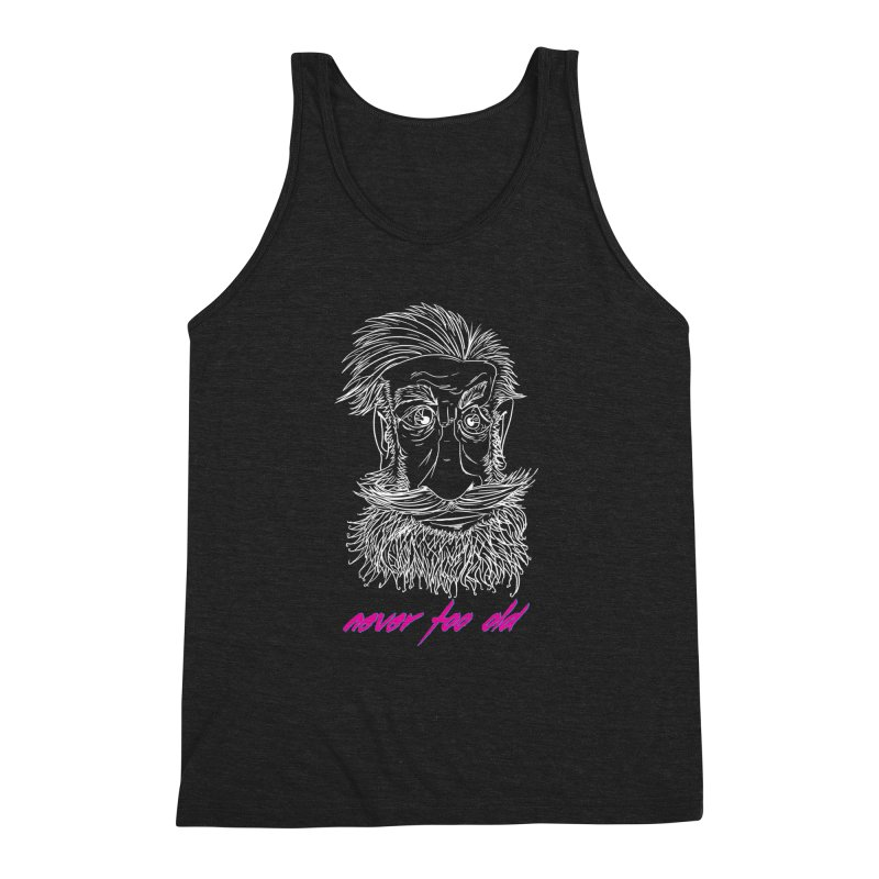 Never too old II Men's Triblend Tank by peregraphs's Artist Shop