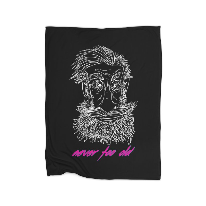 Never too old II Home Fleece Blanket Blanket by peregraphs's Artist Shop