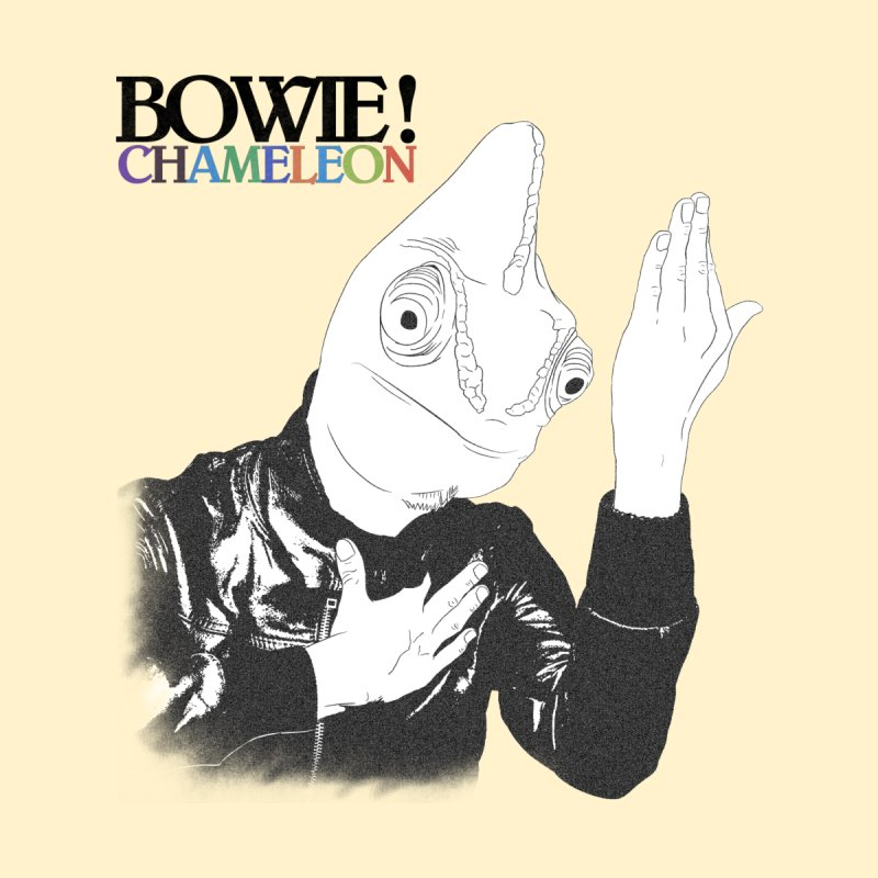 Bowie Chameleon Men's T-shirt by peregraphs's Artist Shop