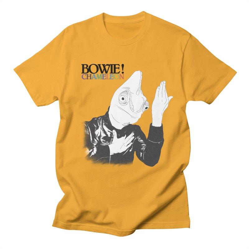 Bowie Chameleon Men's Regular T-Shirt by peregraphs's Artist Shop