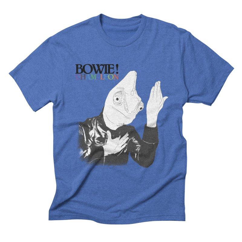 Bowie Chameleon Men's T-Shirt by peregraphs's Artist Shop
