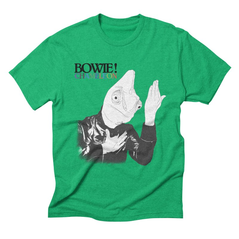 Bowie Chameleon Men's Triblend T-Shirt by peregraphs's Artist Shop