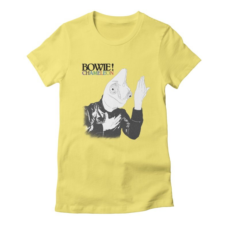 Bowie Chameleon Women's T-Shirt by peregraphs's Artist Shop