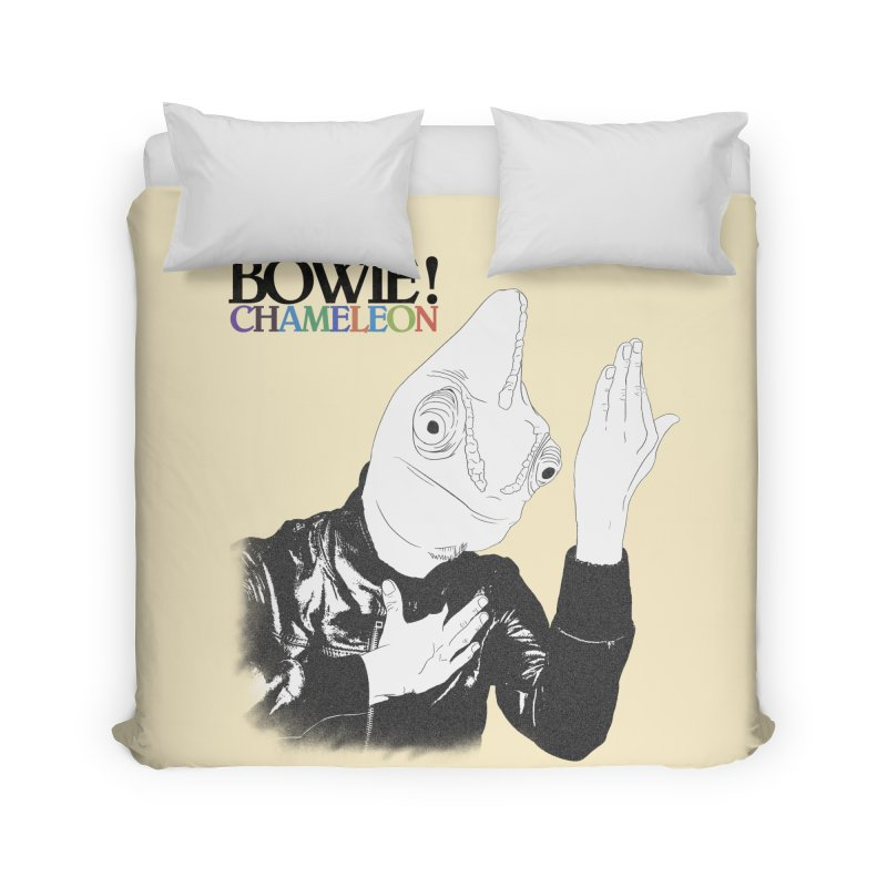 Bowie Chameleon Home Duvet by peregraphs's Artist Shop