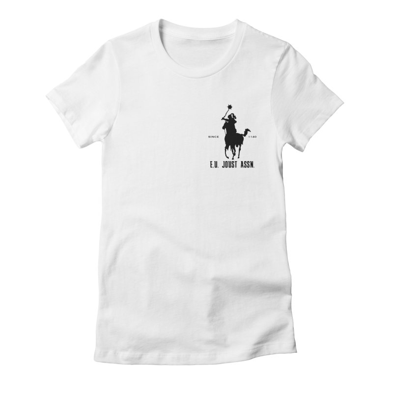 Medieval Polo Women's Fitted T-Shirt by peregraphs's Artist Shop