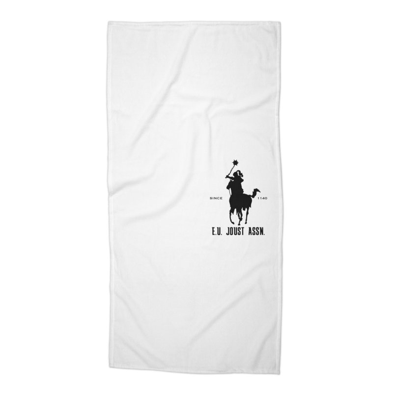 Medieval Polo Accessories Beach Towel by peregraphs's Artist Shop