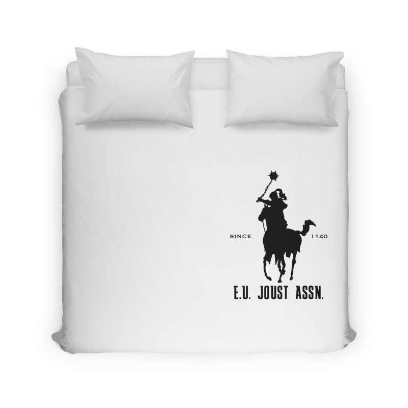 Medieval Polo Home Duvet by peregraphs's Artist Shop