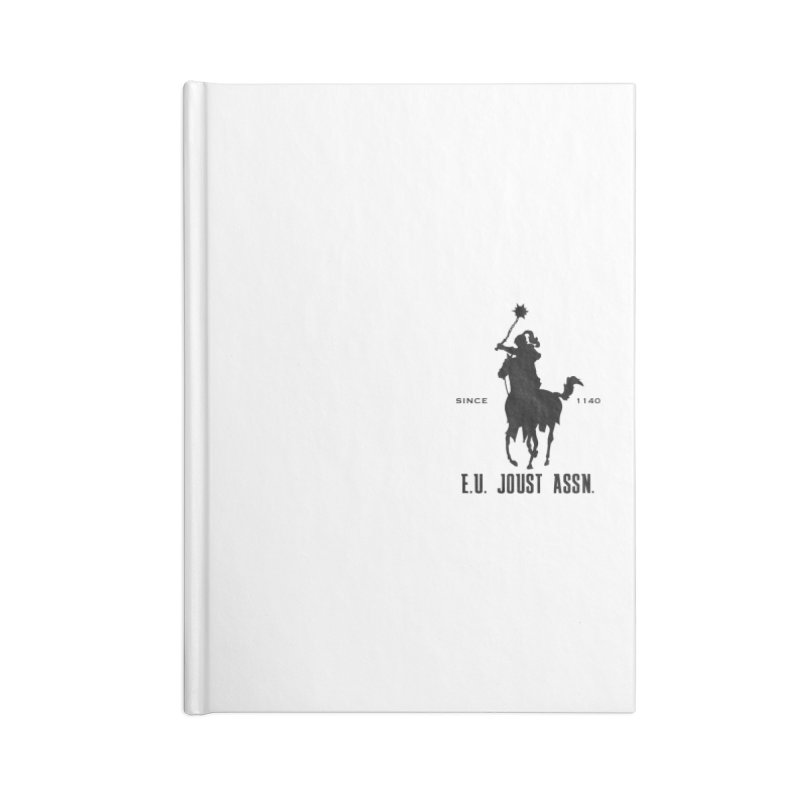 Medieval Polo Accessories Lined Journal Notebook by peregraphs's Artist Shop