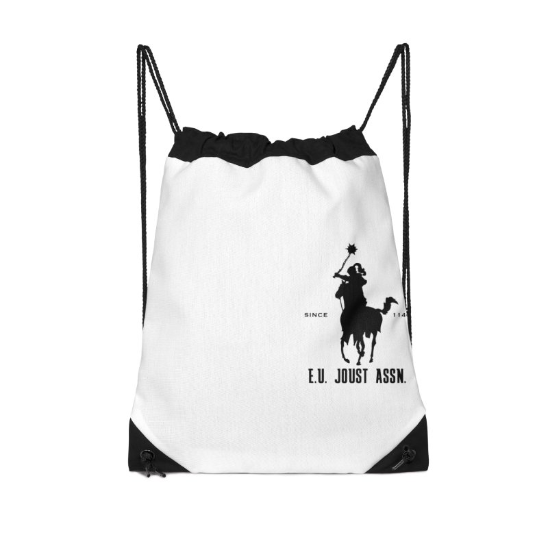 Medieval Polo Accessories Drawstring Bag Bag by peregraphs's Artist Shop