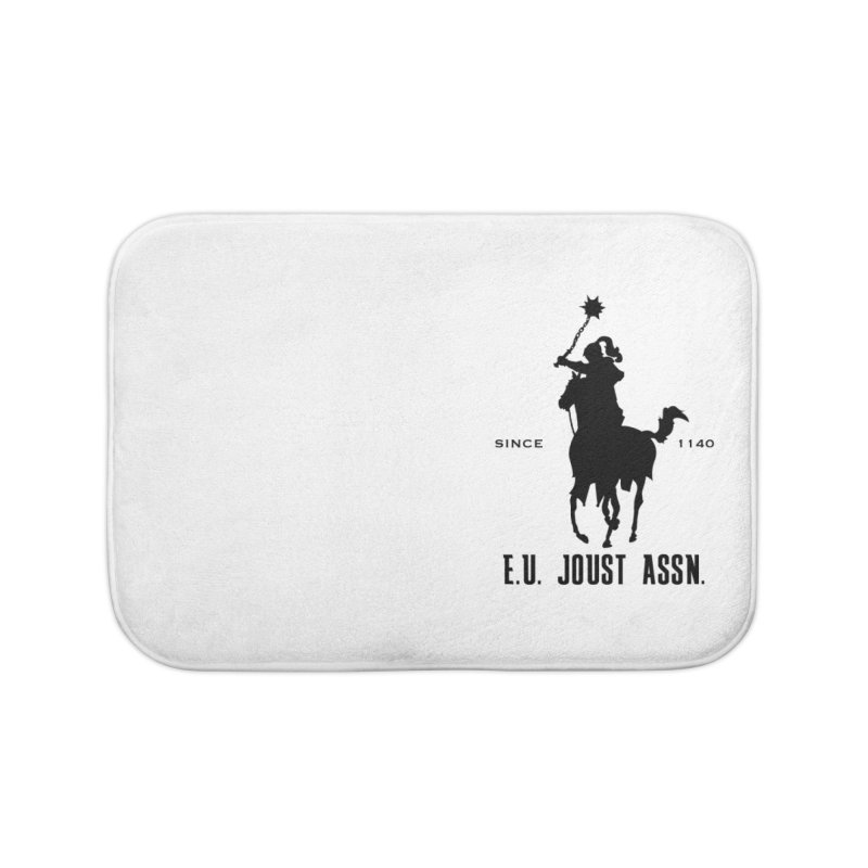 Medieval Polo Home Bath Mat by peregraphs's Artist Shop