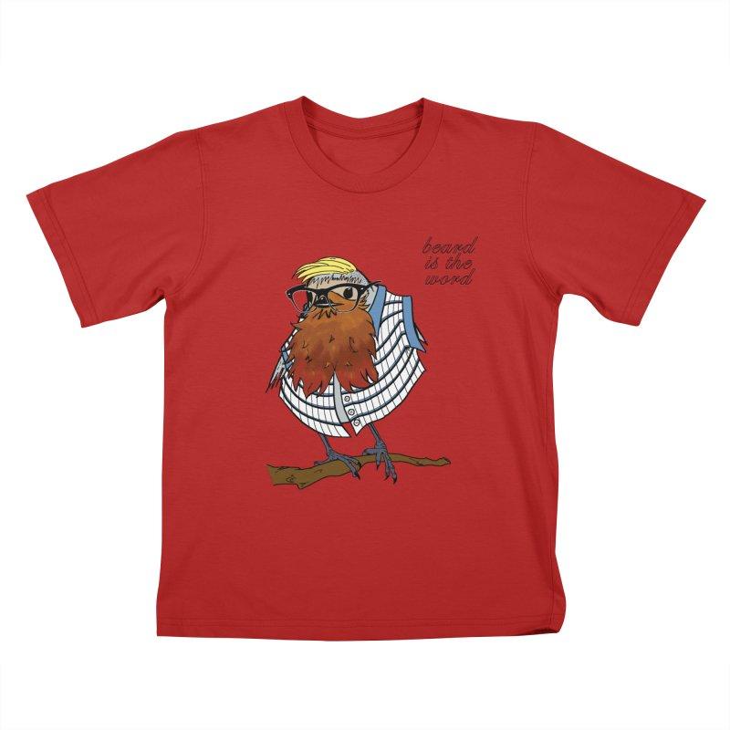 Robin Hipster Kids T-shirt by peregraphs's Artist Shop