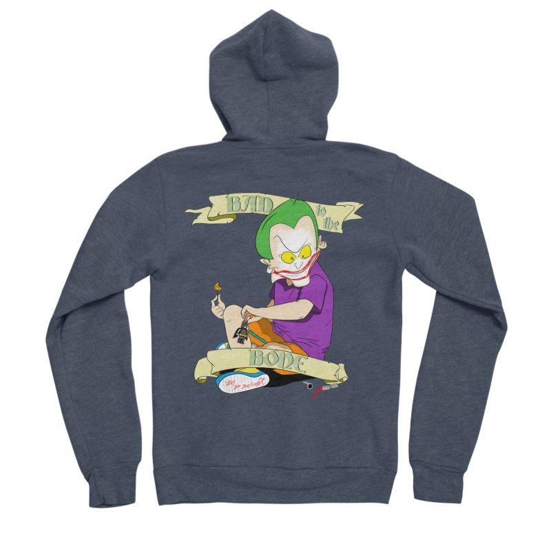 Kid Joker Men's Sponge Fleece Zip-Up Hoody by peregraphs's Artist Shop