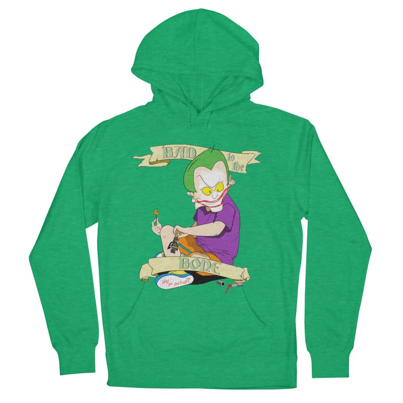 Kid Joker Women's French Terry Pullover Hoody by peregraphs's Artist Shop
