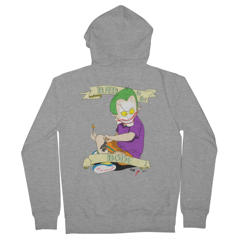Kid Joker Men's French Terry Zip-Up Hoody by peregraphs's Artist Shop