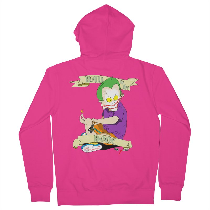 Kid Joker Men's French Terry Zip-Up Hoody by peregraphs's Artist Shop