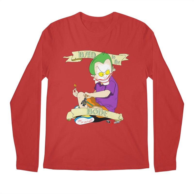Kid Joker Men's Regular Longsleeve T-Shirt by peregraphs's Artist Shop