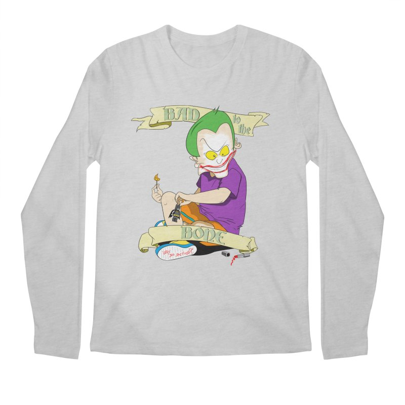 Kid Joker Men's Regular Longsleeve T-Shirt by peregraphs's Artist Shop