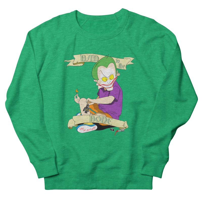 Kid Joker Women's French Terry Sweatshirt by peregraphs's Artist Shop
