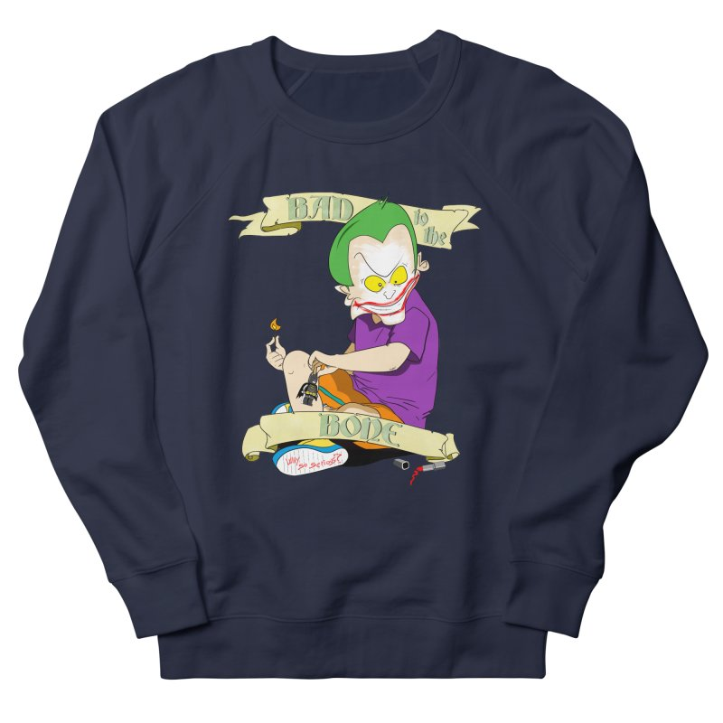 Kid Joker Men's French Terry Sweatshirt by peregraphs's Artist Shop