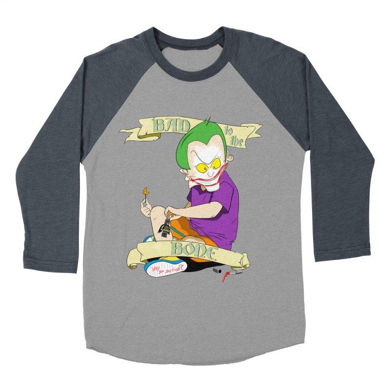 Kid Joker Women's Baseball Triblend Longsleeve T-Shirt by peregraphs's Artist Shop