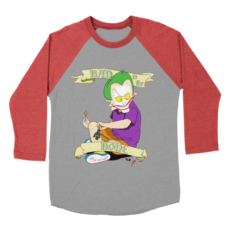 Kid Joker Men's Baseball Triblend Longsleeve T-Shirt by peregraphs's Artist Shop
